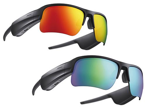 画像: ロードオレンジ(上)やトレイルブルー(下)など、天候や目的に合わせた交換用レンズが、3種類発売されている(執筆時点)。