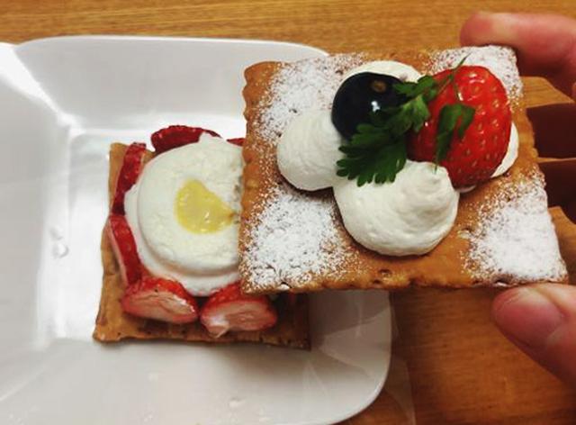 画像: パイの下にはホイップクリームと濃厚カスタードクリームが!