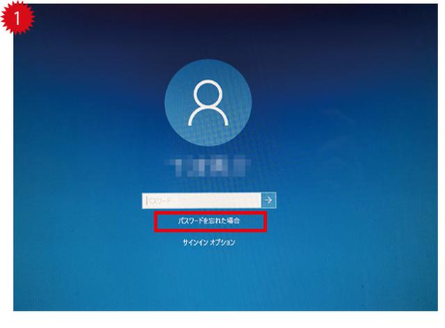 画像1: ●メールやSMSでパスワードを再設定することができる