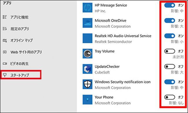 画像: ●Windowsの「スタートアップ」から解除する方法