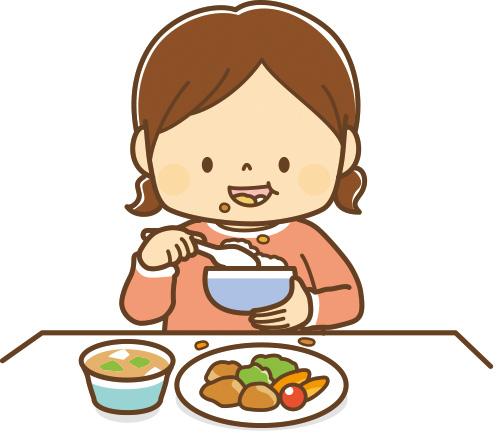 画像: 「送り込み」がうまくできず、食べ物が口の端からこぼれてしまう。