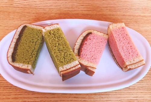画像: カステラの中まで色がキレイ。見た目も楽しませてくれるお菓子です。
