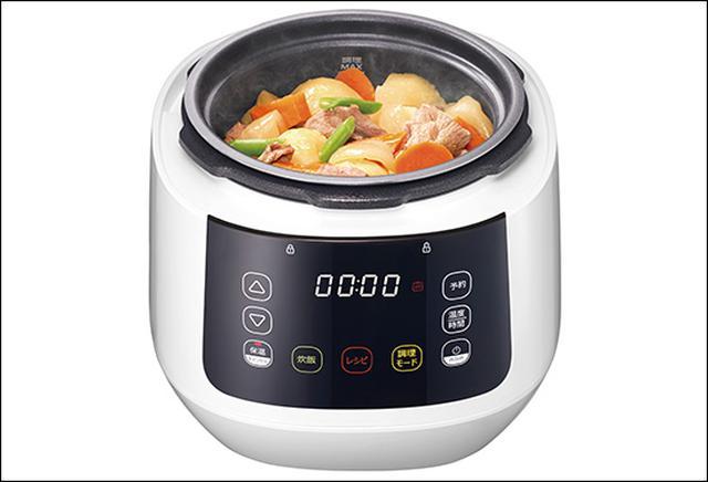 画像: 人気のあるカレーや肉じゃがなどは個別メニューが用意されており、ワンタッチで調理できる。