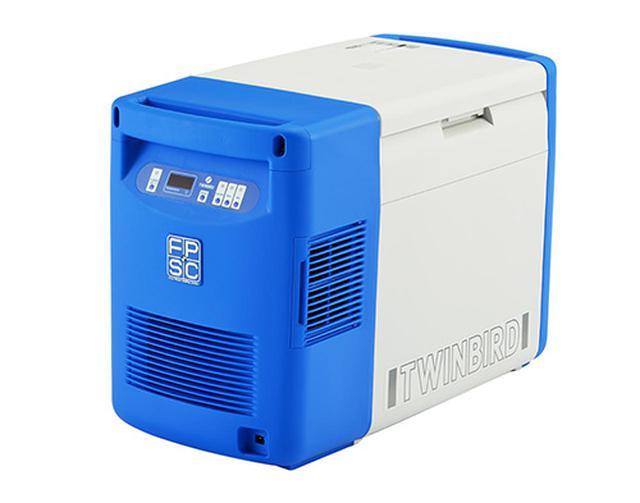 画像: FPSC技術を活かして造られたワクチン輸送ボックス。 fpsc.twinbird.jp