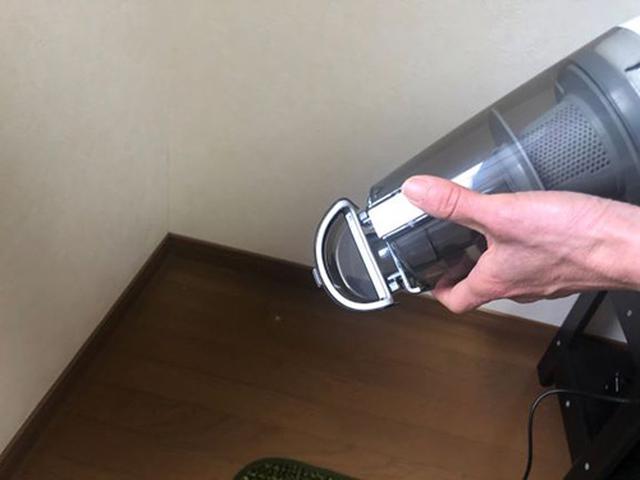 画像: ワンタッチで蓋が開くのでゴミ捨ても簡単!