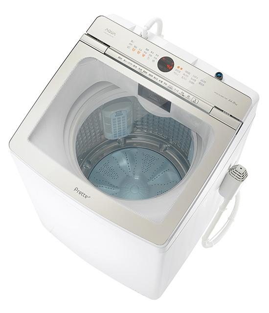 画像: 超音波の力でエリ・ソデ汚れをラクラク予洗い