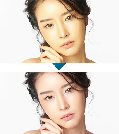 画像: より自然に人それぞれの肌の魅力を引き出す「ナチュラル美肌トーン」 www.toshiba.co.jp
