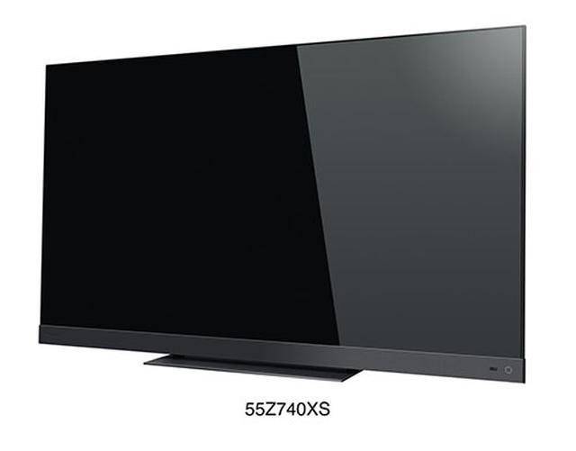 画像: 55V型の「55Z740XS」 www.toshiba.co.jp