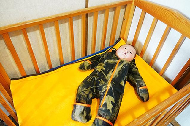 画像: 乳児を連れた旅のお風呂で更衣室にベビーベッドがあるかは、とても重要。ベビーベッドがあるだけで本当に助かります。