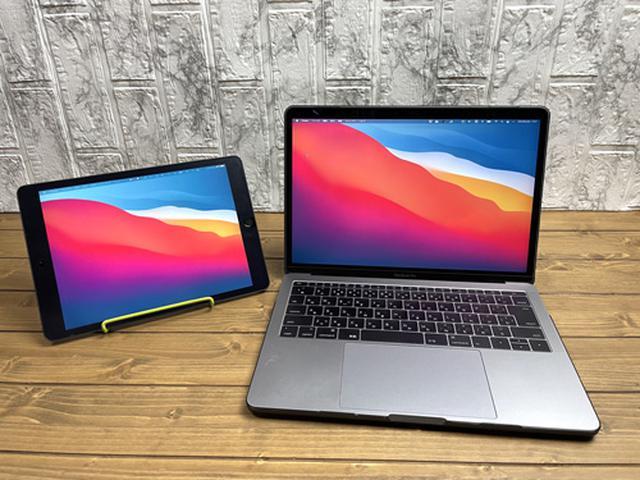 画像: MacとiPadの接続が完了した状態。