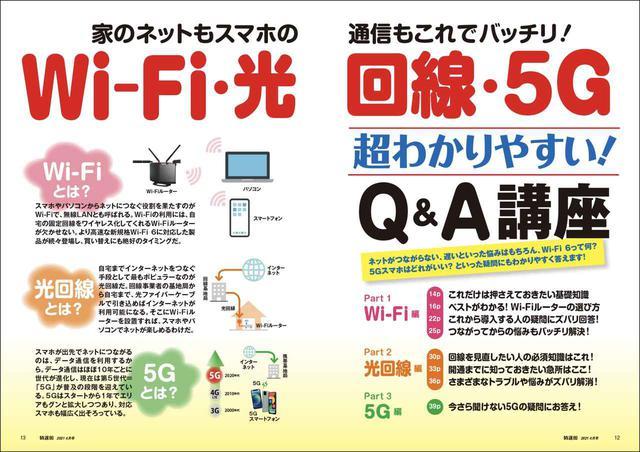 画像2: 【本日発売! 特選街4月号】Wi-Fi、5G、Google、AppleWatch、プレステ5、ニンテンドースイッチなどなど大紹介!