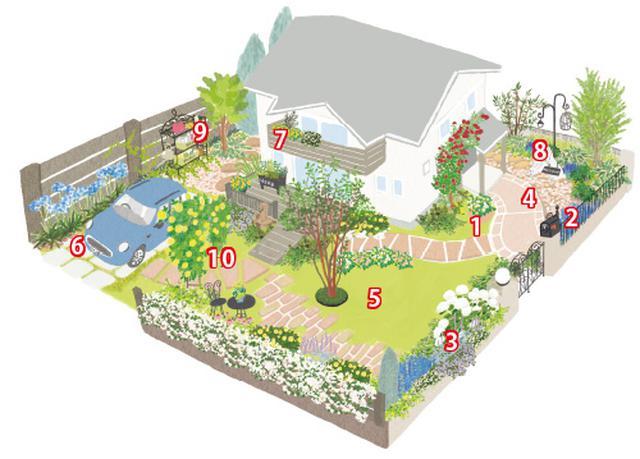 画像: 小さなスペースこそはじめての庭づくりに最適