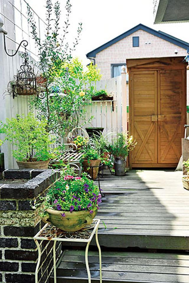 画像: 短所が長所に変わる! 小さな庭の欠点克服アイデア