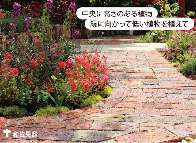 画像2: 草花の手入れがしやすく小さな庭にまとまりが生まれる