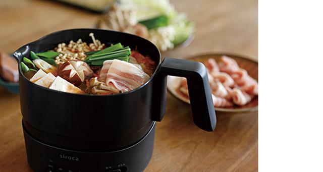 画像: 残った料理は鍋ごと冷蔵庫で保存でき、再加熱も簡単。直接食べれば、食器も不要だ。