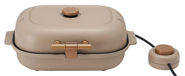 画像: ◯サイズ/幅350㎜×高さ150㎜×奥行き250㎜ ◯重量/2.8kg(焼き芋プレート使用時)