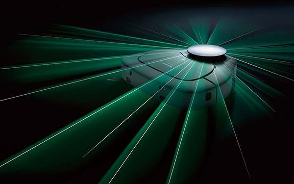 画像: 360°レーザーセンサー(写真はRSF1000)
