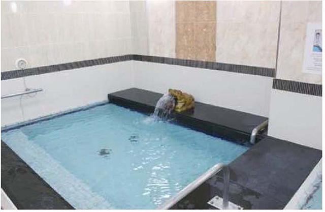 画像: 水質管理にこだわった軟水の水風呂