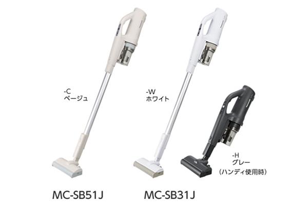 画像: パナソニック『コードレススティック掃除機「パワーコードレス」MC-SB51J/MC-SB31J』 panasonic.jp