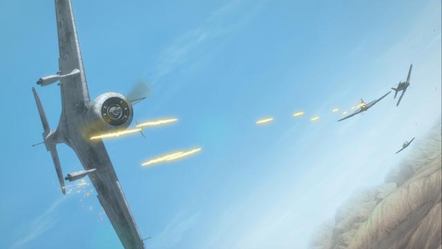 画像: 迫力のアングルと7.1chの音響で空戦を体感できる (c)「荒野のコトブキ飛行隊 完全版」製作委員会