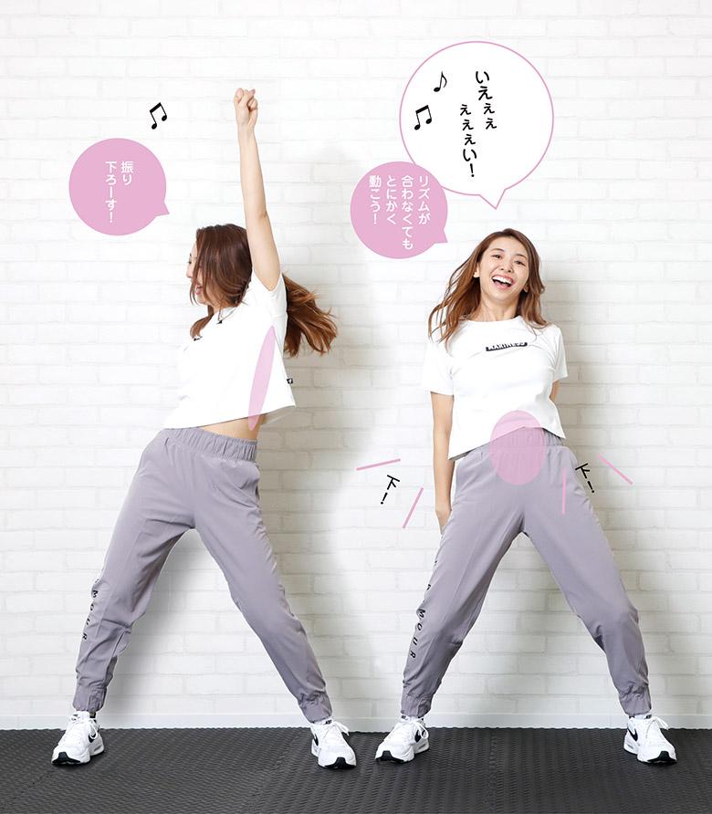 画像2: ③ 1:38 >>> アームダンス