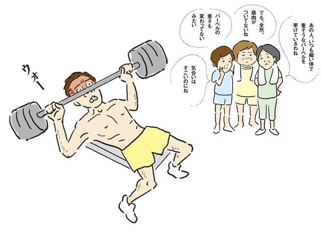 画像: 『筋トレは重量挙げじゃない!』