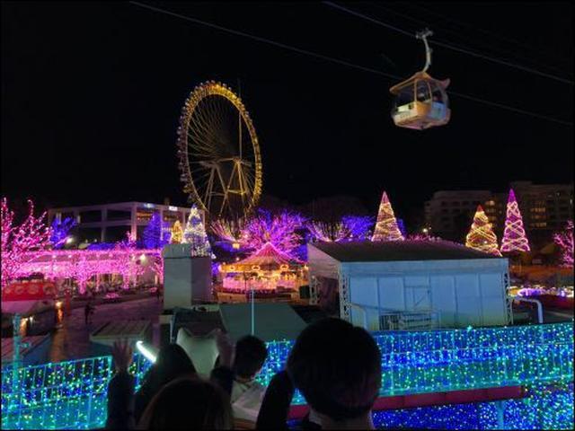 画像: 東京の夜景も楽しめる観覧車