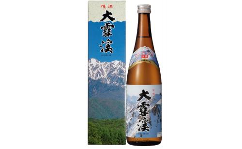 画像: レギュラー酒コンクールの審査員特別推奨受賞した1本、大雪渓 www.jizake.co.jp