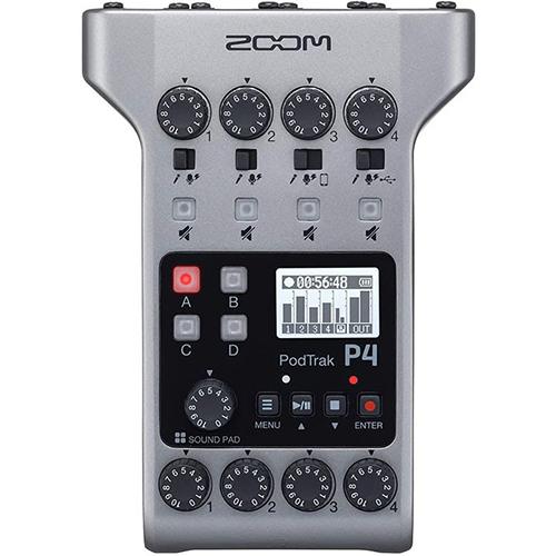 画像: ZOOM『PodTrak P4』 www.amazon.co.jp
