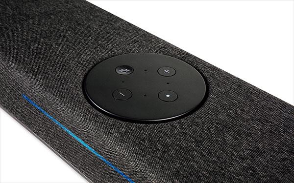 画像: Amazon Alexaに対応。音声操作でスマートスピーカーとして使用できるほか、本機のみでAmazon Musicの再生も可能。