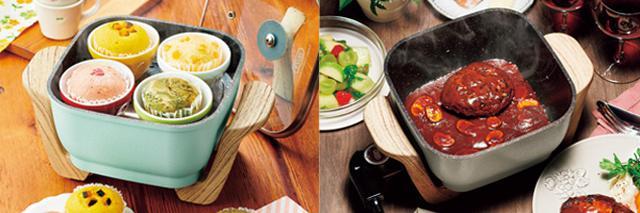 画像2: 2段式弁当箱炊飯器