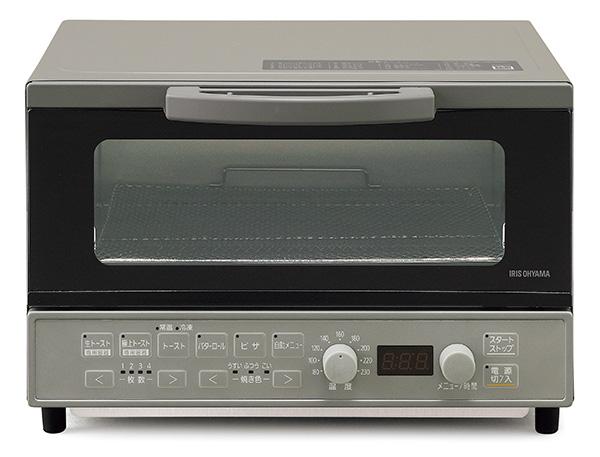 画像1: アイリスオーヤマ マイコン式オーブントースター MOT-401