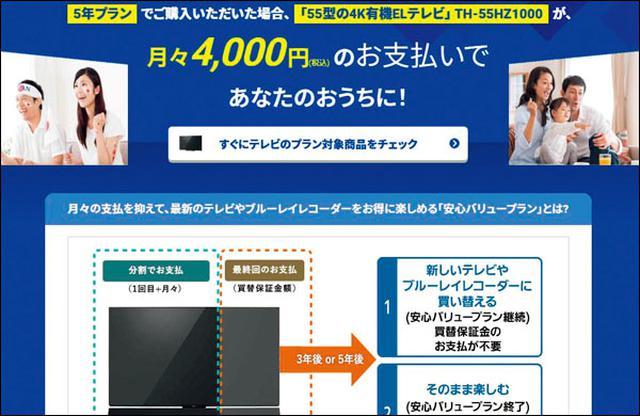 画像: 対象は有機ELテレビ(6機種)、液晶テレビ(2機種)とBDレコーダー(1機種)。