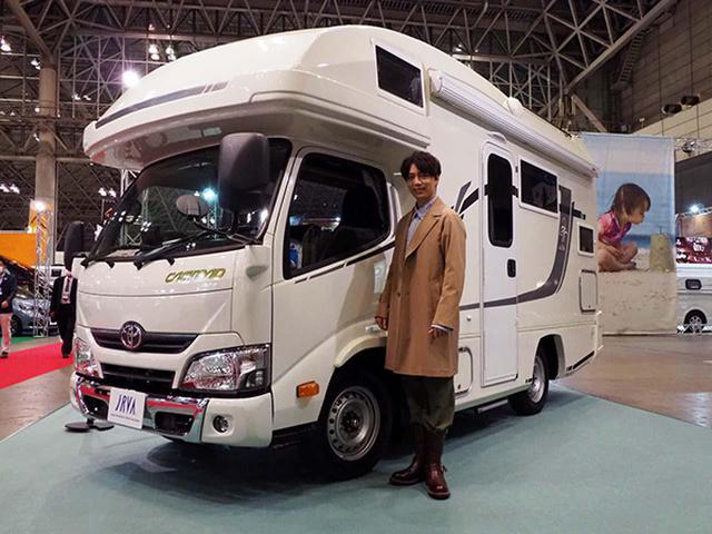 画像: 副賞として山崎育三郎には1年間のキャンピングカーを貸与