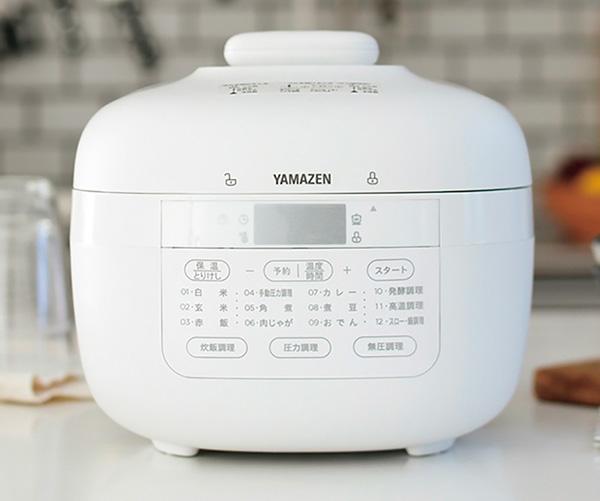 画像1: 山善 マイコン電気圧力鍋 YPCB-M220