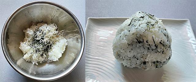 画像: ラップに包んでお昼にも食べたところ、色・香りが少し落ちる程度で、おいしくいただけました。