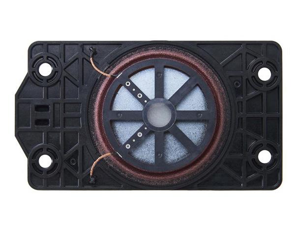 画像: A90Jシリーズに採用されているアクチュエーター。有機ELパネルに装着され画面から音を出す。