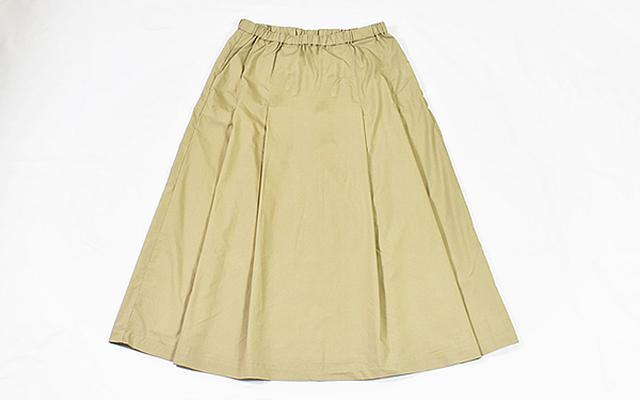 画像: いろいろな着こなしができるスカート