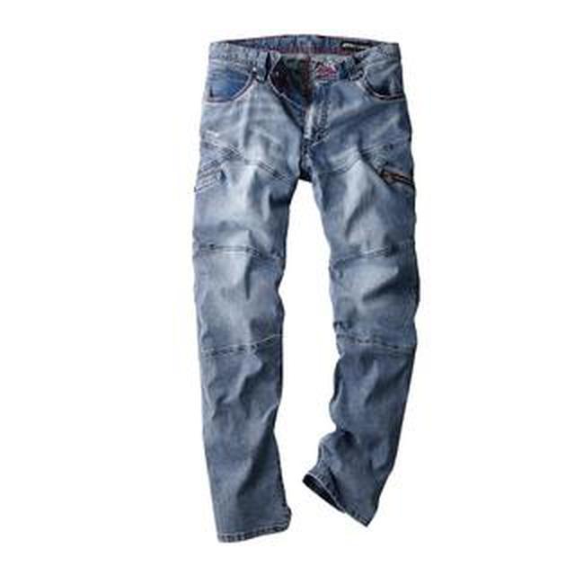 画像: 【ワークマン】夏用カーゴパンツが履きやすい!サマーBlue Bストレッチデニム購入レビュー!