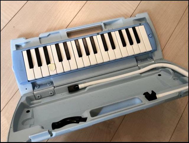 画像: 鍵盤ハーモニカも、立派なおうち楽器です。
