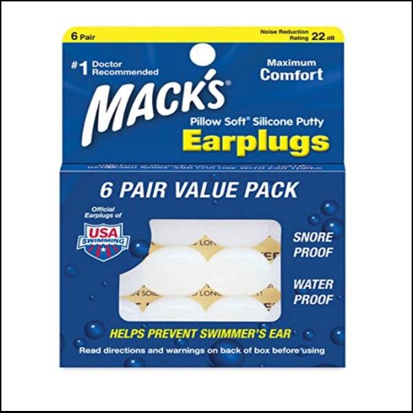 画像: Macks Pillow(マックスピロー) 『Soft シリコン耳栓 #7 透明 6ペア×2セット』 www.amazon.co.jp