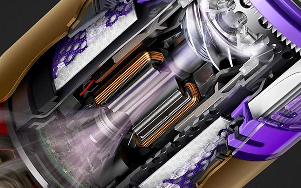 画像2: ローラーブラシ2本で全方向に動く、ダイソンのニューノーマル時短掃除機
