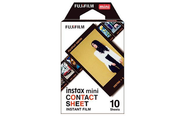 画像: 黒フレームのミニフィルム「コンタクトシート」(実売869円前後)。