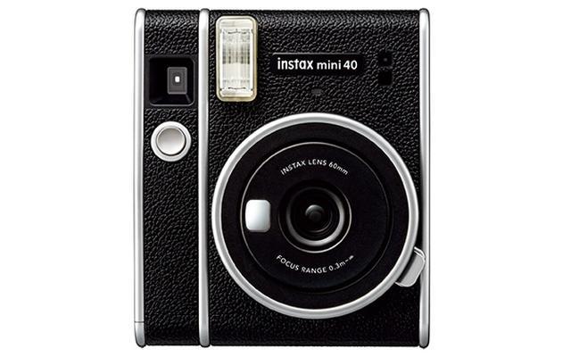 画像: ブラックを基調にしたクラシックカメラ的なデザイン。持つ人のおしゃれ度がアップ。