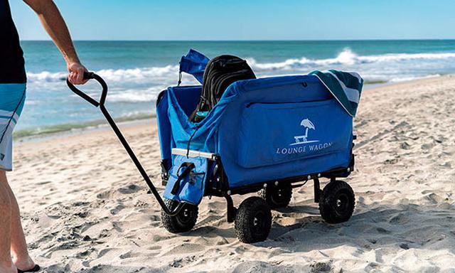 画像: 大型のホイールを搭載するので、砂浜などの悪路も走行できる。