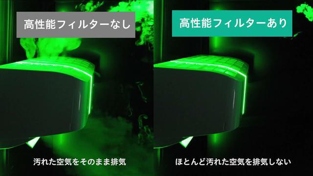 画像: 気流の可視化実験 youtu.be