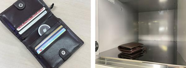 画像: AirTagを入れた財布をコインロッカーに預け、1kmほど離れた場所へ移動した。