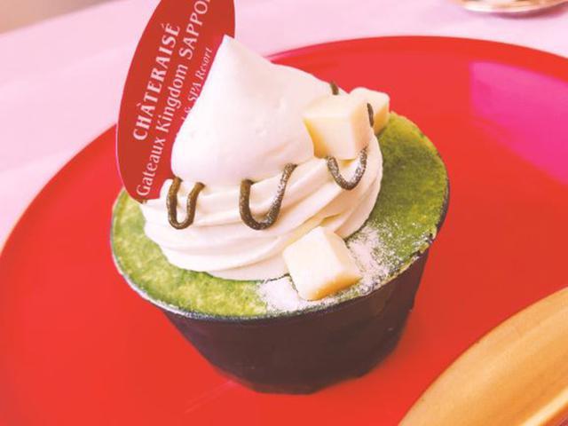 画像: 「北海道産純生クリーム使用抹茶のテリーヌ」本体価格 370円 (税込 399円)