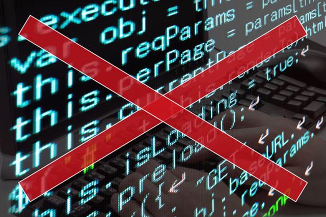 画像: このような英語や記号を使ったプログラムを書く必要はない(画像はイメージです)。