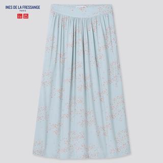 画像: 【ユニクロ】イネスコラボのレーヨンギャザースカートに一目惚れ!1290円とは思えない高クオリティ
